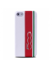 Protector trasero Fiat 500 FTHCP5CIW iPhone 5 - 5S blanco