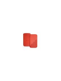 Funda cartuchera Iphone Puro rojo