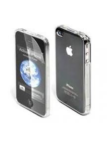 Protector trasero rígido Iphone 4 transparente