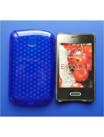 Funda TPU LG L3 II E430 azul