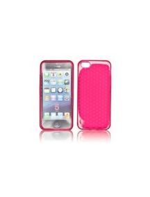 Funda TPU diamante Iphone 5c rosa