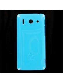 Protector trasero Huawei Ascend G510 celeste original