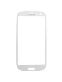 Cristal Samsung Galaxy S3 i9300 blanco