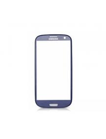 Cristal Samsung Galaxy S3 i9300 azul