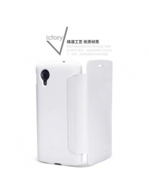 Funda libro Nillkin V-Serie LG Google Nexus 5 D820 blanca