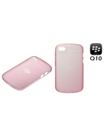Funda TPU Blackberry Q10 ACC-50724-203 rosa