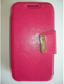 Funda libro Coolpad Smart 4G 8860U Vodafone rosa