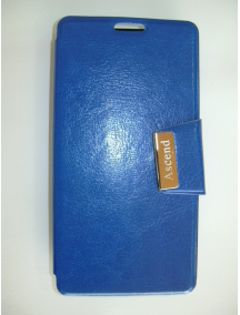 Funda libro Coolpad Smart 4G 8860U Vodafone azul