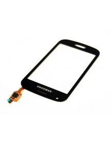 Ventana táctil Samsung S7560 Galaxy Trend negra