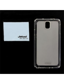 Funda TPU + lámina Jekod Samsung Galaxy Note 3 N9005 transparent