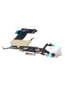 Cable flex de conector de carga - accesorios Apple iPhone 5 blan