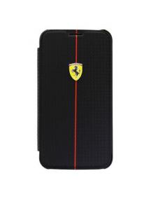 Funda libro Ferrari Carbon Formula1 Samsung G900 Galaxy S5 FEFOC