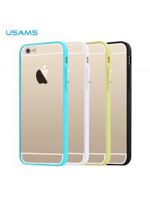 "Funda TPU Usams USAMS Edge iPhone 6 4.7"" blanca"