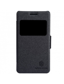Funda libro Nillkin S-View Sony Xperia E1 D2005 negra