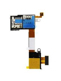 Cable flex de lector de SIM - micro SD Sony Xperia M2 D2303