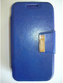 Funda libro LG G2 mini D620 azul