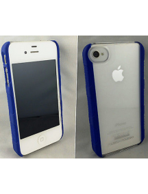 Funda Body Glove para iPhone 4 - 4S azul - transparente