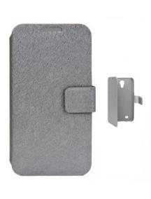 Funda libro Trendy8 Samsung Galaxy S4 i9505 gris