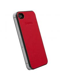 Funda trasera Krusell iPhone 4 - 4S roja