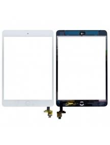 Ventana táctil iPad mini blanca con boton home