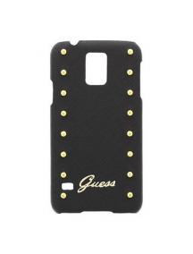 Protector Guess GUHCS5SAB Samsung Galaxy S5 G900 negra