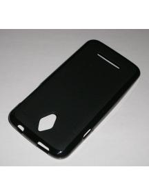Funda TPU Vodafone Smart 4 negra