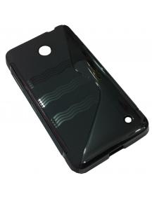 Funda TPU Nokia 630 Lumia negra