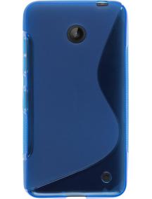 Funda TPU Nokia 630 Lumia azul