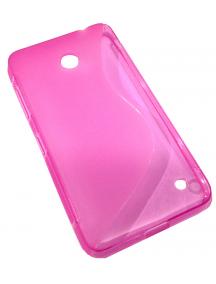 Funda TPU Nokia 630 Lumia rosa