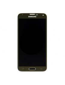 Display Samsung Galaxy S5 G900 dorado