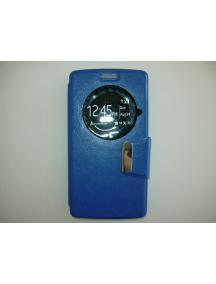 Funda libro TPU S-view LG Spirit H440n azul