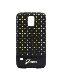 Protector Guess GUHCS5PEB Samsung Galaxy S5 G900 negro