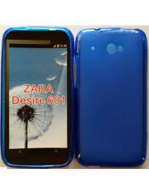 Funda TPU HTC Desire 601 azul
