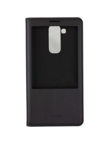 Funda libro S-view Huawei Ascend Mate 7 negra original