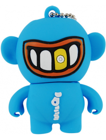 Memoria Mooster USB 8GB TOONS cool gold smile mx 280