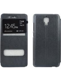 Funda libro Pudini S-view para Xiaomi Mi4 gris