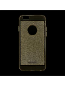 Funda TPU Kisswill Shine iPhone 6 dorada