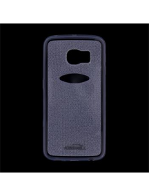 Funda TPU Kisswill Shine Samsung Galaxy S6 Edge G925 azul