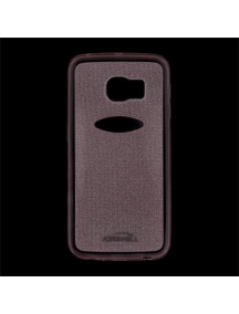 Funda TPU Kisswill Shine Samsung Galaxy S6 Edge G925 rosa