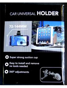 Base de sujeción de tablets unirversal para coche de 7.2 a 15cm