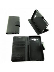 Funda libro TPU Goospery Samsung Galaxy S6 Edge G925 negra