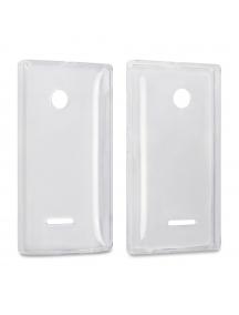 Funda TPU Nokia Lumia 435 - 532 transparente