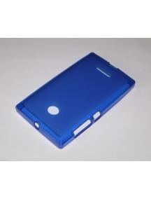 Funda TPU Nokia Lumia 435 - 532 azul