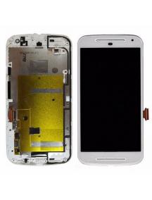 Display Motorola Moto G 2º Generación XT1068 - XT1063 blanco