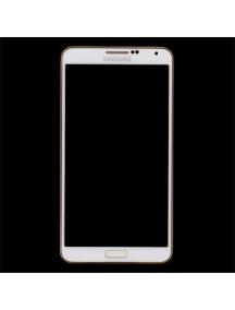 Display Samsung Galaxy Note 3 N9005 blanco - dorado
