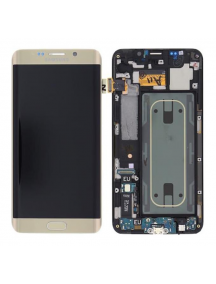 Display Samsung Galaxy S6 Edge Plus G928 dorado
