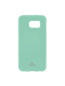 Funda TPU Mercury Goospery Samsung Galaxy S6 Edge G925 verde