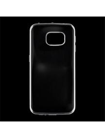 Funda TPU Kisswill Samsung Galaxy S6 Edge G925 transp - plata