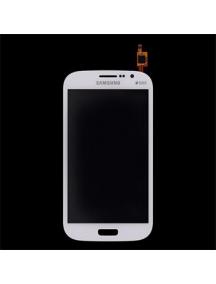 Ventana táctil Samsung i9060i Galaxy Grand Neo Plus blanca origi