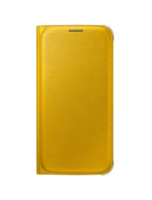 Funda libro Samsung EF-WG920PYE Galaxy S6 Edge G920 amarilla